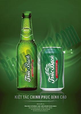 Ngoại hình mới của bia Trúc Bạch