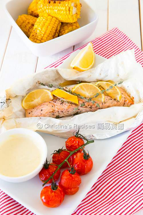 Baked Salmon Parcel02