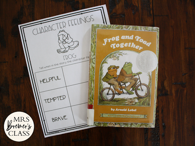 Frog and Toad Together book study literacy unit with Common Core aligned companion activities 1st grade 2nd grade