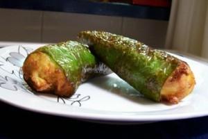 Receta De Pimientos Rellenos De Tortilla De Patata Thabuca