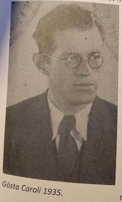 Gösta Caroli 1935 (Olsson & Jonason - Gösta Caroli: Dubbelagent Summer)