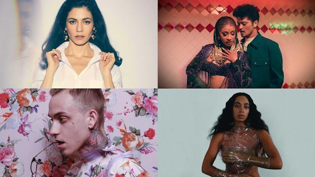 Lançamentos da semana: Marina, Blackbear, Ellie Goulding, Solange e mais!