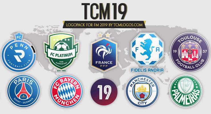 Download Football Manager 2019 Logos Megapack