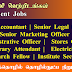 Chief Accountant, Senior Legal Officer, Senior Marketing Officer, Administrative Officer, Stores Officer, Library Attendant, Electrician - கைத்தொழில் தொழில்நுட்ப நிறுவனம்