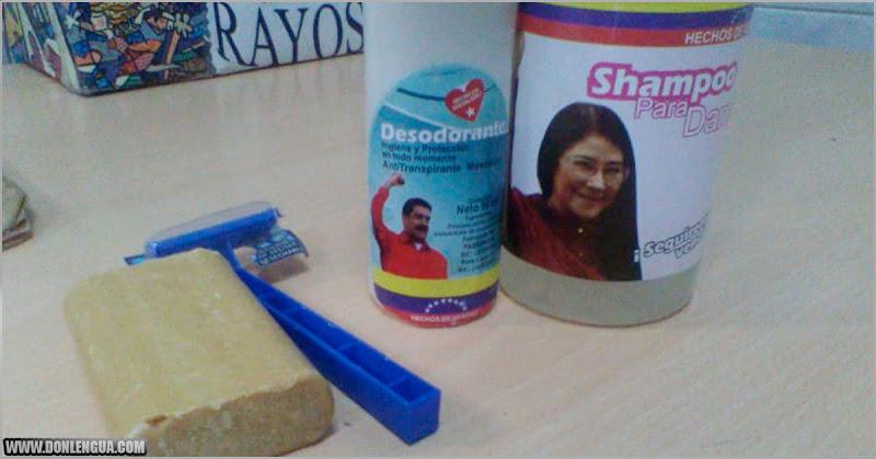 Régimen entregó este Kit de higiene a empleados de hospital Pérez Carreño