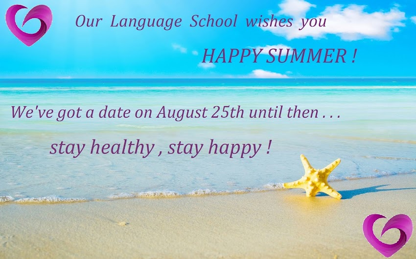 We wish you a Happy Summer!