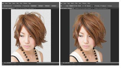 Seleksi Rambut secara Rapi dengan Photoshop