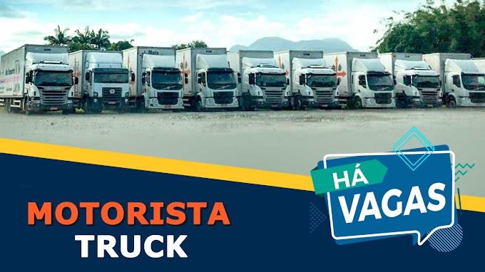 Mais Transportes abre vagas para Motorista Truck