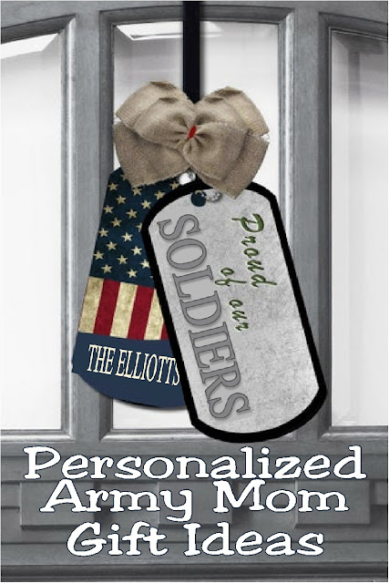 Shout your Army Mom pride from the rooftops with these Army Mom gift ideas personalized with your name and lots of love.  The small businesses of Etsy are perfect at making your soldier feel a little closer with everything from necklaces to mugs to wall hangings. #armymompride #armymomgiftideas #diypartymomblog
