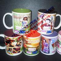 Souvenir Mug Warna Dalam
