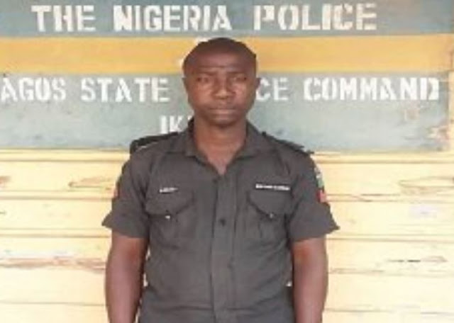 Police Sergeant arrested for killing man in Lagos