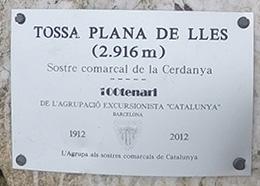 Tossa Plana de Lles (Sostre comarcal de la Cerdanya)