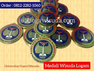 bikin medali wisuda universitas Manado