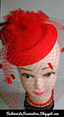 Red fascinator hats for sale in Kenya