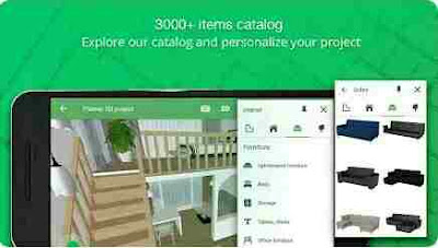 Aplikasi Desain Rumah Terbaik - Planer 5D – Kreator Desain Interior & Rumah