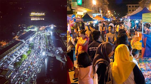 Semua Aktiviti Pasar Malam, Pekan Sehari, Car Boot Sale Dihentikan Seketika Di Daerah Temerloh
