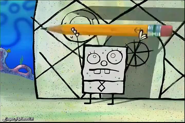 SpongeBob Season 2 Episode 14B - Frankendoodle SD 480p Dub Indo