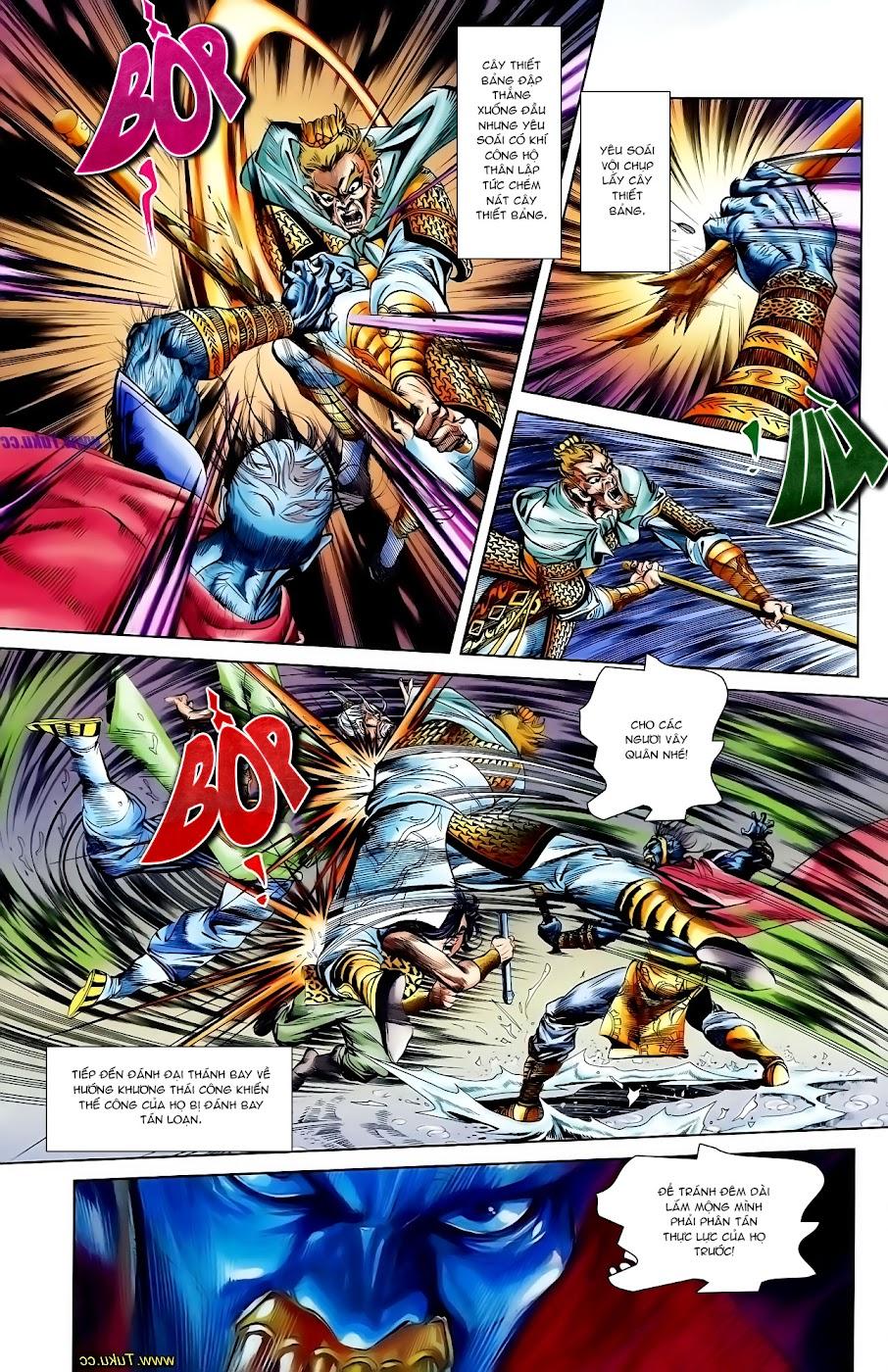 Cơ Phát Khai Chu Bản chapter 110 trang 16