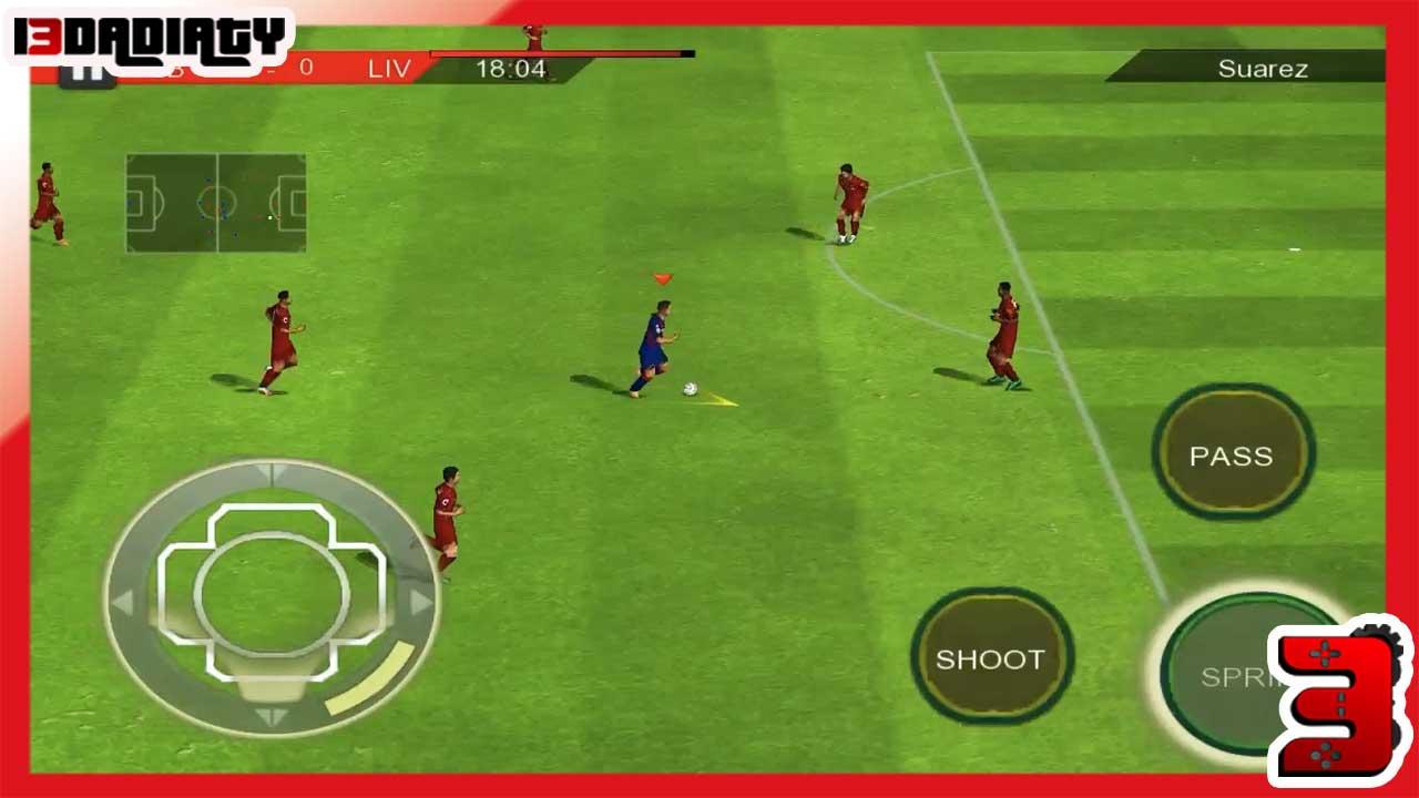 تحميل لعبة real football مهكرة