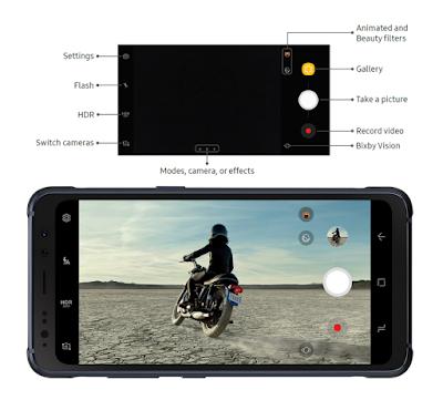 Galaxy S8 Active Camera