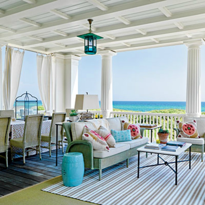 coastal, bright, outdoor space