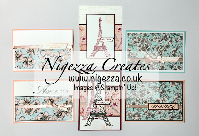 Nigezza Creates with Stampin' Up! & Parisian Beauty