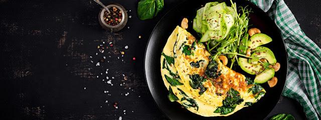طريقة تحضير البيض الاومليت الفرنسي لفطور مميز