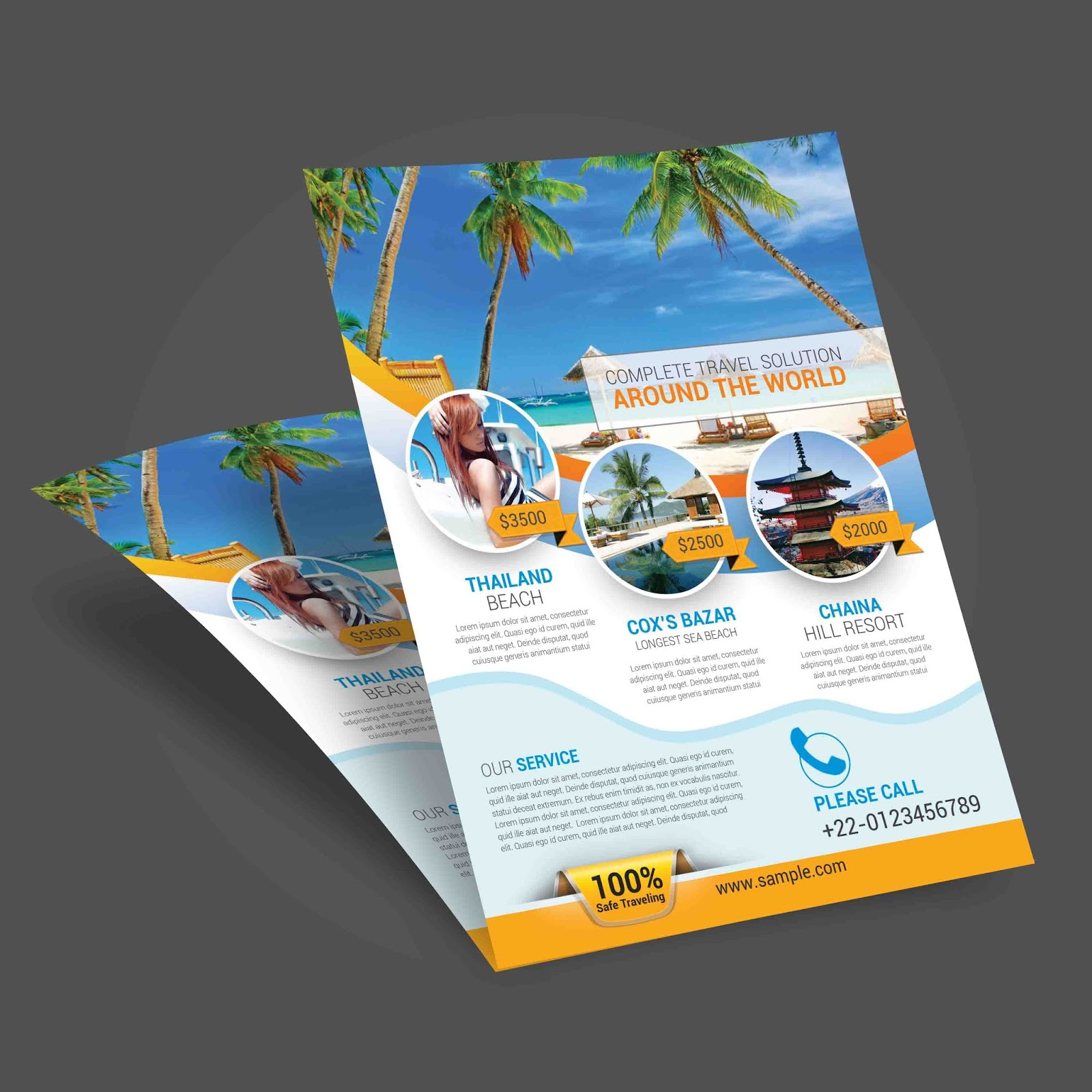 Printable Travel Brochure Template For Kids: Template Market