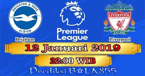 Prediksi Bola855 Brighton vs Liverpool 12 Januari 2019