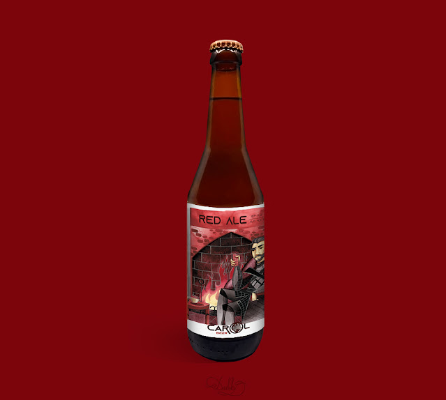 designed by #dushky / #art #illustration #figure #character #characterart #cartoon #beer #label #craftbeer #romania #packacing #design #graphicdesign