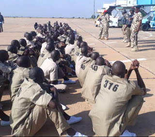 NEWS: Military releases 1,009 ex-Boko Haram fighters to Borno government