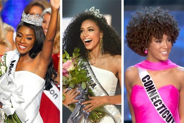 Pela 1ª vez, Miss EUA, Miss America e Miss Teen EUA são mulheres negras