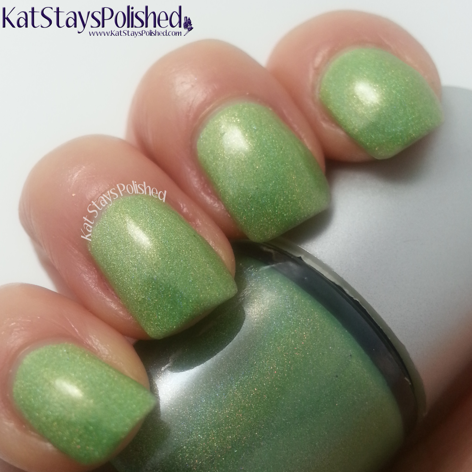 NailNation3000: Glow Worm | Kat Stays Polished