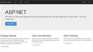 Membuat aplikasi dengan ASP.NET MVC5