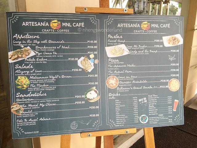 Artesania MNL Arts & Craft Cafe