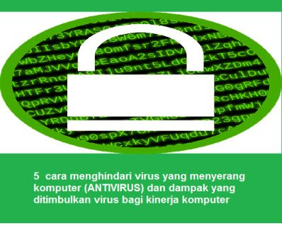5  cara menghindari virus yang menyerang komputer (ANTIVIRUS) dan dampak yang ditimbulkan virus bagi kinerja komputer