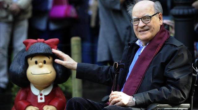 Quino, creador de Mafalda, muere a los 88 años.