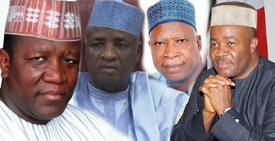 Faces Of Politicians With N232bn Corruption Cases Working For Buhari's Re-Election