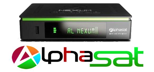 Alphasat Nexum Atualização V13.07.13.S82 - 13/07/2021