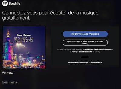 Warsaw - Spotify - Ben Heine Music