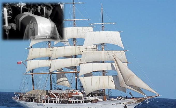 """El lujoso yate escuela """"Angelita"""" sigue navegando con el fantasma del sátrapa bajo el nombre de Sea Cloud"""