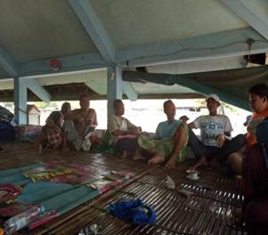 Gambar 1. Kumpulan Nelayan di Pos