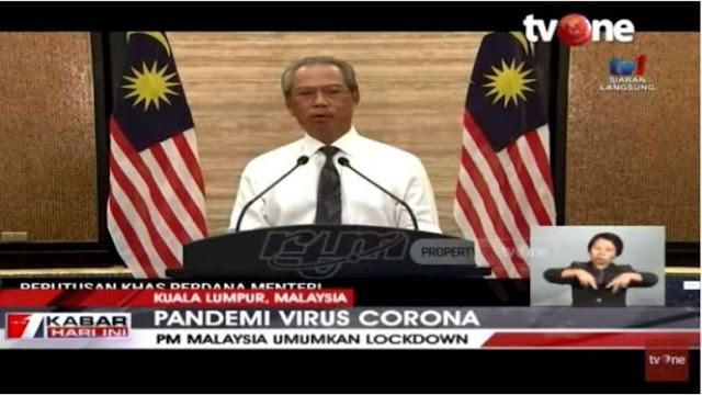 VIDEO: Malaysia Umumkan Lockdown Terkait Corona