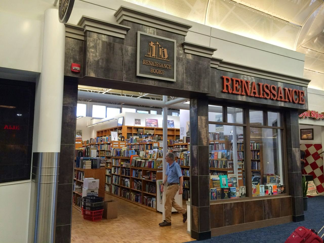 Airport Attractions Browse Used Books in Milwaukee's Renaissance Book Shop