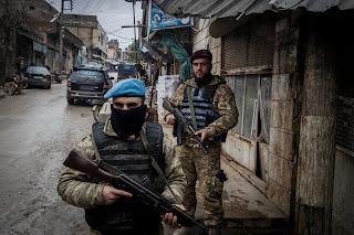 مديرة مكتب نيويورك تايمز تقدم الاحتلال التركي في عفرين على انه المنقذ وفريق الجيوستراتيجي يظهر حقيقة الاحتلال وجرائمه