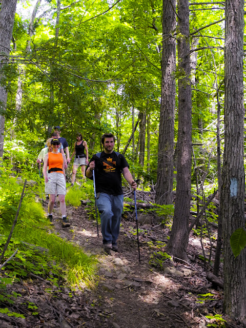 Meetup group leader guides a band of seasoned explorers on The Metacomet