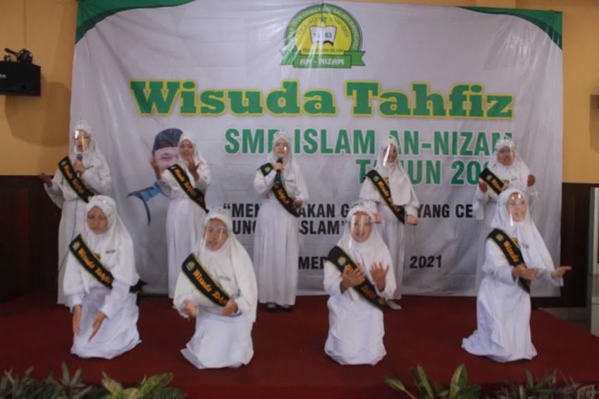 Wisuda Tahfiz SMP Islam An-Nizam kali ini Berkesan Banget