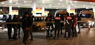 هجوم مسلح على الشرطة في إسطنبول وإصابة ضابطين