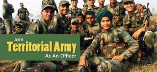 TERRITORIAL ARMY BHARTI 2019