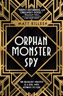 Orphan Monster Spy by Matt Killeen cover